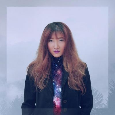 nữ thiết kế đồ họa Kim Xuân