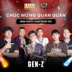 e-Sports Championship 2021: Sự trở lại của đấu trường thể thao điện tử quy mô tại cộng đồng Arena Multimedia