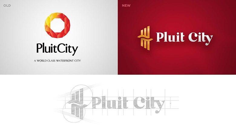thiết kế lại logo thương hiệu thành phố Pluit