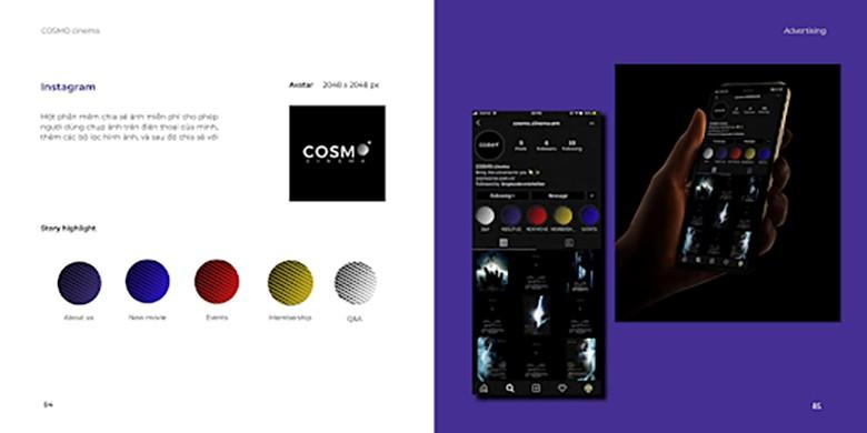 Sản phẩm thiết kế đồ họa Quảng cáo trên các kênh Social Media