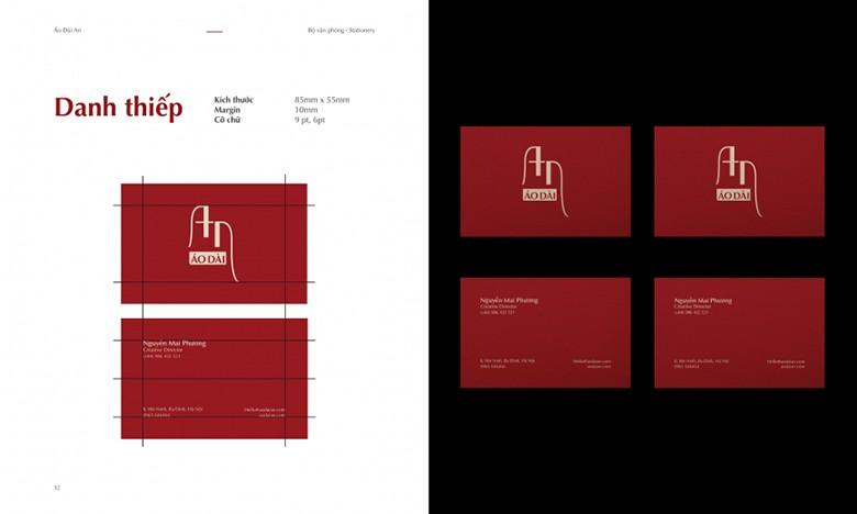 Danh thiếp - Sản phẩm thiết kế đồ họa văn phòng phẩm